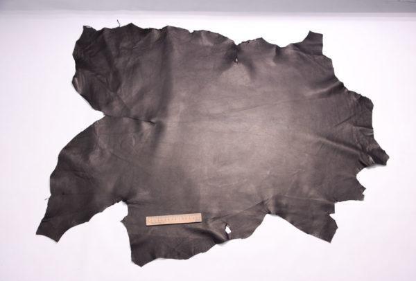 Кожа МРС двухсторонняя, чёрная, 72 дм2.-108120