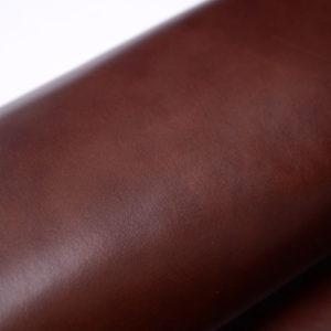 Кожа КРС растительного дубления с лёгким эффектом пулап (Pull up), бордово-коричневая, 140 дм2.-501207