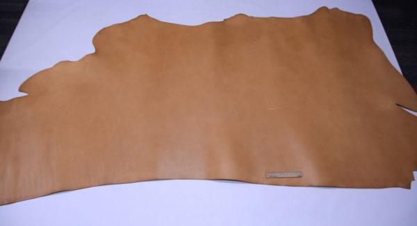 Кожа КРС растительного дубления, песочная, 198 дм2, Tempesti S.p.A.-501217