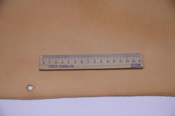 Кожа КРС растительного дубления, песочная, 102 дм2, Tempesti S.p.A-501221