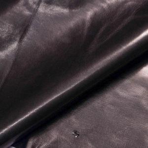 Кожа одёжная МРС, чёрная-Т120