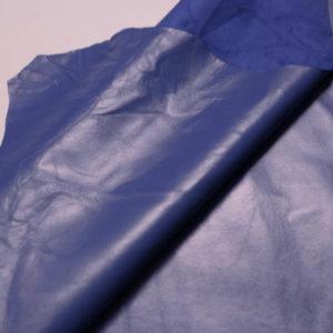 Кожа одёжная МРС, тёмно-голубая-Т108