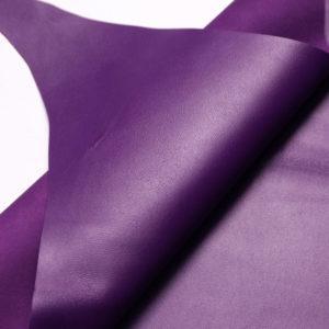 Кожа МРС, фиолетовая, 47 дм2.-108180