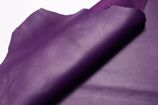 Кожа МРС, фиолетовая, 60 дм2.-108181