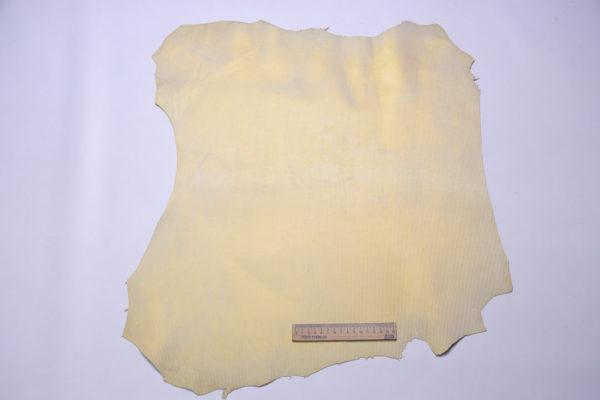 Велюр МРС с тиснением, светлое золото, 31 дм2, Conceria Gaiera GIOVANNI S.p.A.-108183