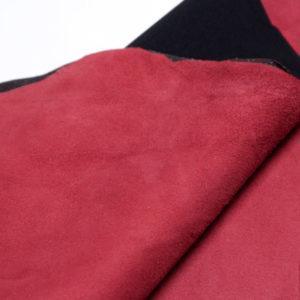 Стрейч велюр МРС, бордовый, 52 дм2.-108196
