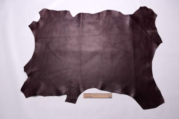 Кожа МРС, тёмно-бордовая, 42 дм2.-108200