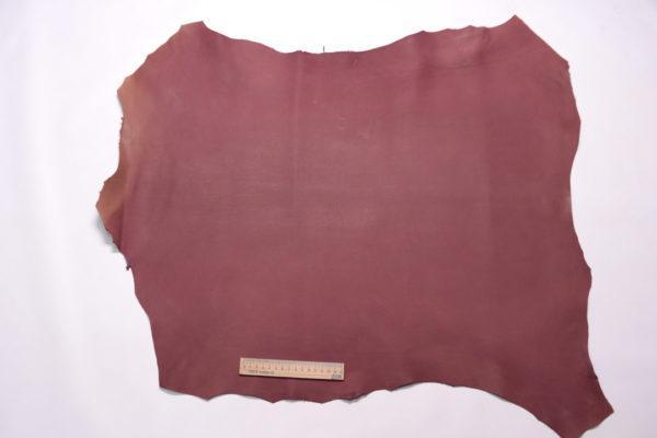 Кожа МРС (краст), красно-фиолетовая, 49 дм2.-108203