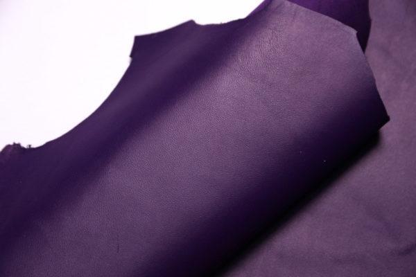 Кожа МРС, фиолетовая, 34 дм2.-108218