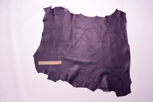 Кожа МРС, фиолетовая, 37 дм2.-108219