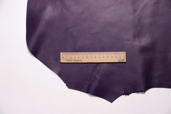 Кожа МРС, фиолетовая, 33 дм2.-108220