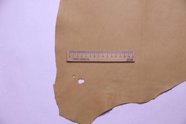 Кожа МРС, песочная, 35 дм2.-108238