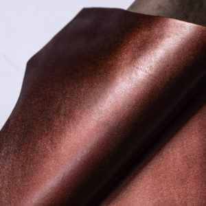 Кожподклад МРС, бордово-коричневый металлик, 22 дм2.-108271