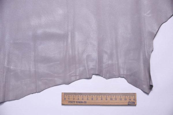 Кожа МРС, серо-сиреневая, 34 дм2.-108307