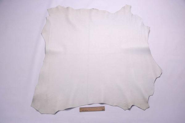 Кожа МРС, белая, 62 дм2.- 108345