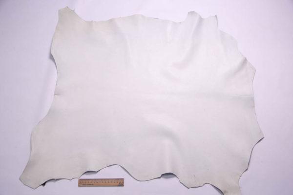 Кожа МРС, белая, 58 дм2.- 108346