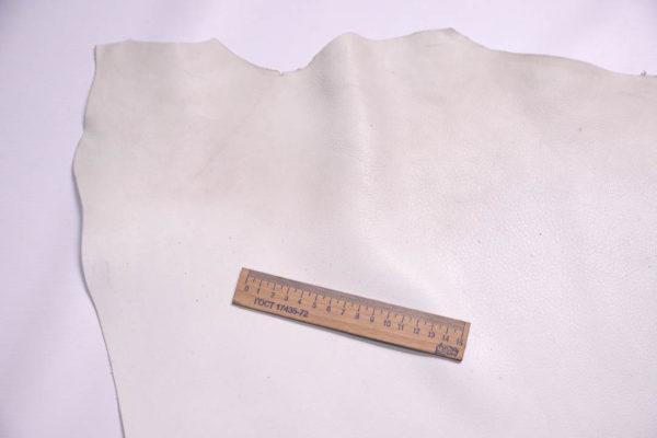 Кожа МРС, белая, 61 дм2.- 108347