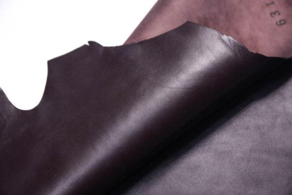 Кожа МРС, шоколадная, 34 дм2.- 108348