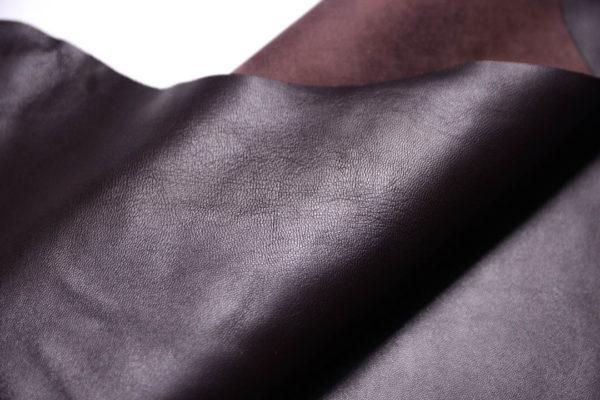 Кожа МРС, шоколадная, 58 дм2.- 108351