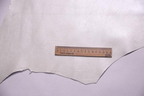 Кожа МРС, жемчужная, 46 дм2.-108373