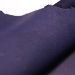 Кожа МРС (краст), синяя, 47 дм2.-108386