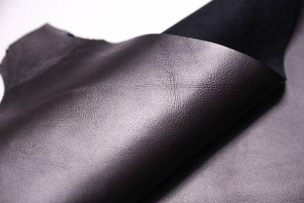 Кожа МРС, тёмно-серый металлик, 49 дм2.-108391