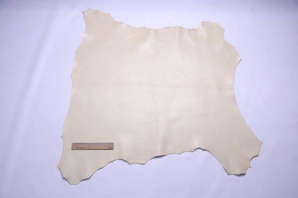 Кожа МРС, слоновой кости, 46 дм2.-108402