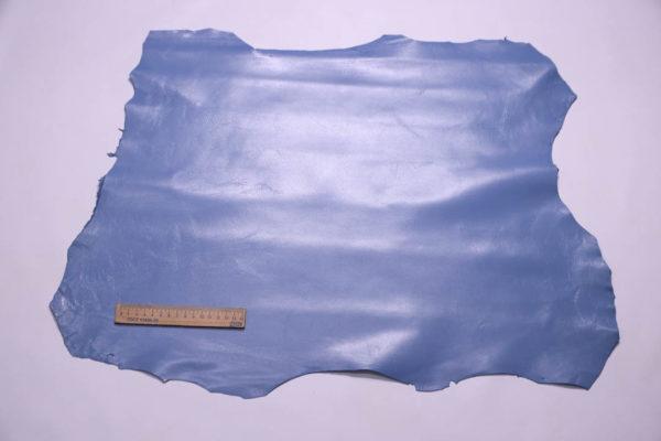 Кожа МРС, голубая, 32 дм2.-108408