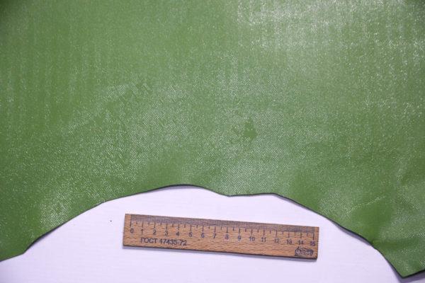 Кожа МРС с принтом, светло-зелёная, 53 дм2.-108432