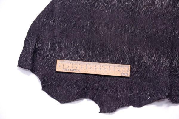 Велюр МРС с напылением, чёрный, 34 дм2.-108441