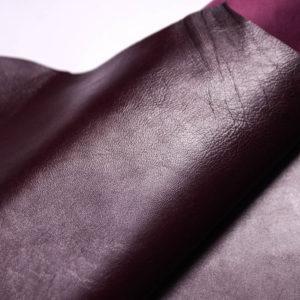 Кожа МРС, тёмно-бордовая, 50 дм2.-108447