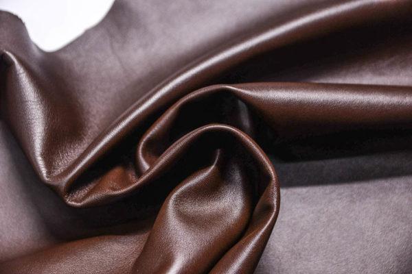 Кожа МРС, тёмно-коричневая, 53 дм2.-108457