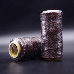 Нить мокасин вощенная, коричневая (brown 321)