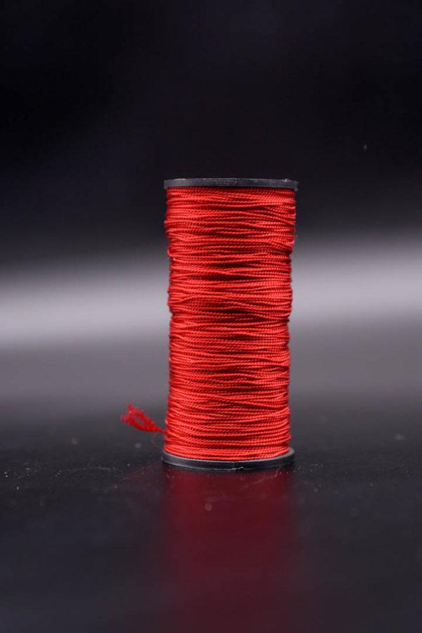 Нить капроновая крученая, тёмно-красная (текс 187)