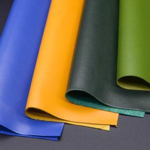 Набор из 4 кусочков тёмно-зелёной, синей, жёлтой, зелёной, А4-Набор 2-3