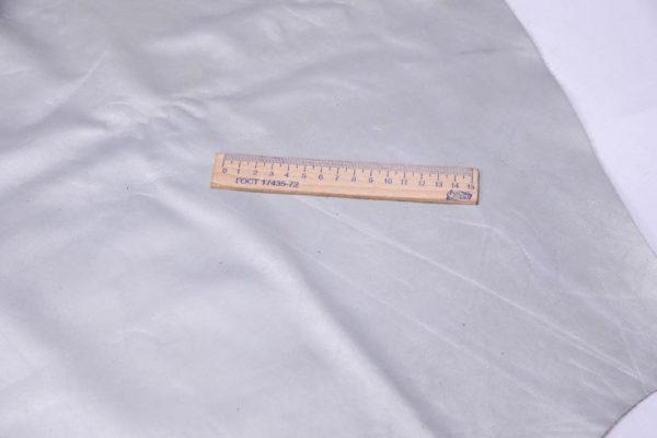Кожа КРС, серый металлик, 125 дм2.-AB1-35