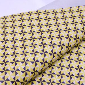 Спилок КРС с принтом, жёлтый, 132 дм2.-AB1-04
