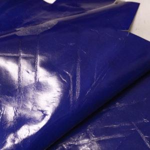 Кожа МРС, синяя, 24 дм2.-AB1-42