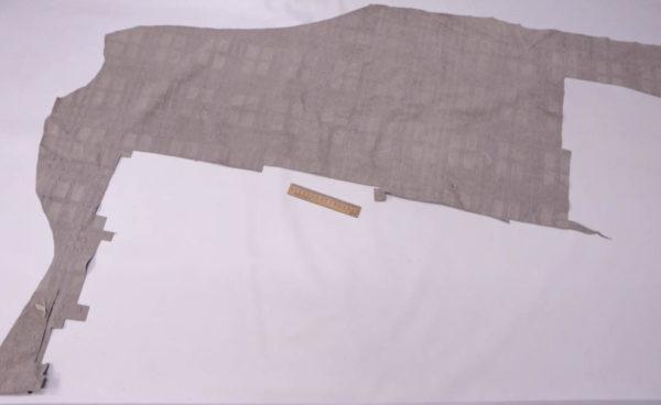 Спилок КРС с тиснением, серый, 58 дм2.-AB1-43
