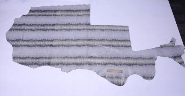 Спилок КРС с принтом, серо-голубой, 95 дм2.-AB1-54