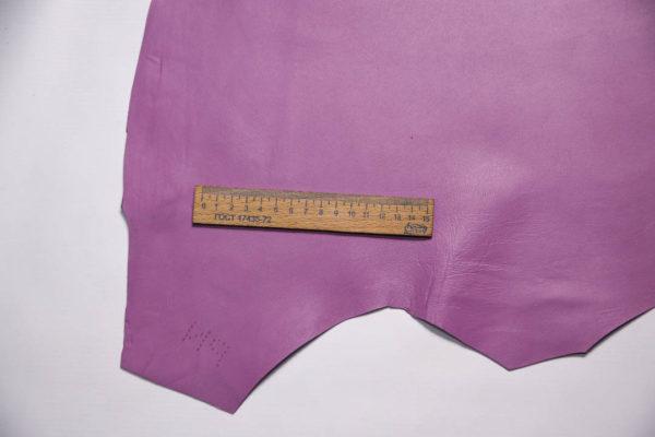 Кожа МРС, сиреневая, 41 дм2, Russo di Casandrino S.p.A.-108474
