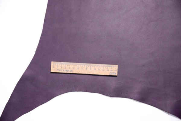 Кожа МРС, тёмно-фиолетовая, 36 дм2.-108477