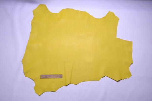 Кожа МРС, бледно-жёлтая, 50 дм2.-108482
