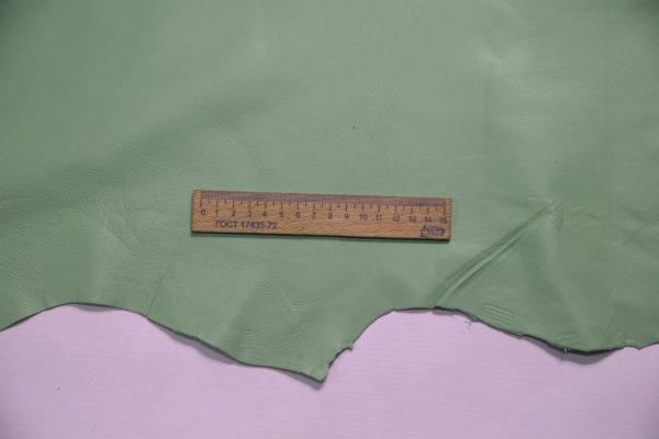 Кожа МРС, мятная, 12,25 фут2. (114 дм2.)- 200011
