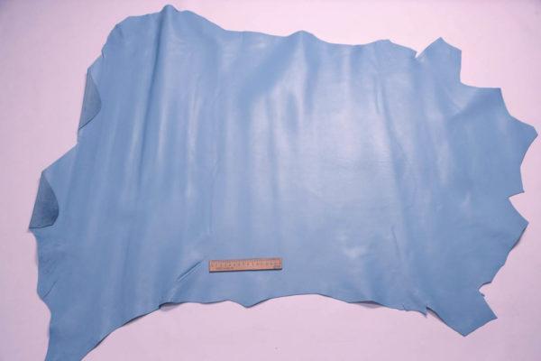 Кожа МРС, светло-голубая, 9,5 фут2. (88 дм2.)- 200022
