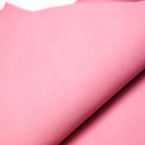 Кожа МРС (краст), розовая, 34 дм2.-108491