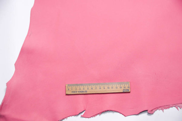 Кожа МРС, розовая, 56 дм2.-108496