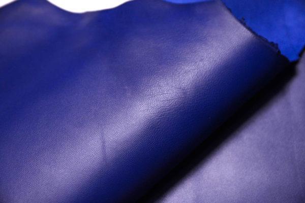 Кожа МРС, синяя, 42 дм2.-108503