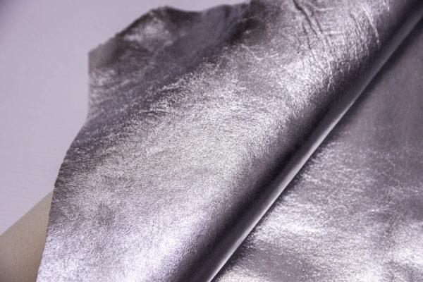 Кожа МРС, серебро, 58 дм2.-108530