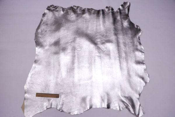 Кожа МРС, серебро, 66 дм2.-108531